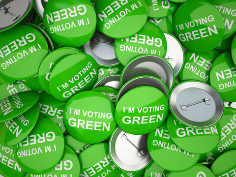 American vote buttons. USA Election 2020