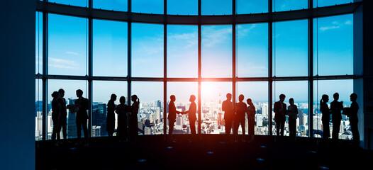 teamwork, office, business, global, city, businessman, management, handshake, human resources,...