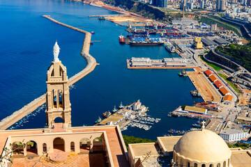 Chapel Santa Cruz fort of Oran, a coastal city of Algeria
