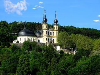 Käppele ist der volkstümliche Name der Wallfahrtskirche Mariä Heimsuchung auf dem Nikolausberg in Würzburg.