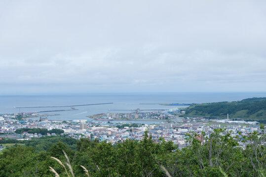 留萌市 千望台からの眺め