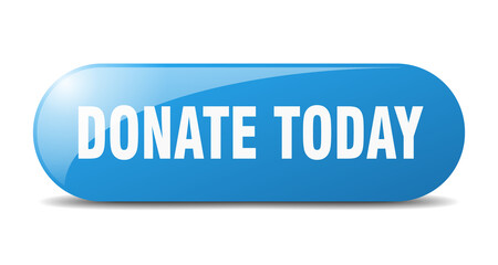 donate today button. donate today sign. key. push button.