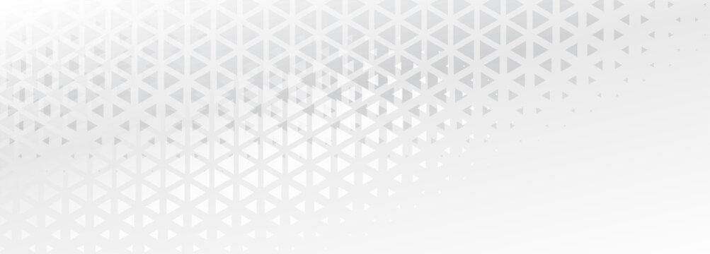elegant subtle triangle shapes abstract banner design