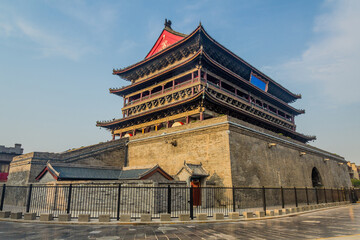 Drum Tower in Xi'an, China Fototapete