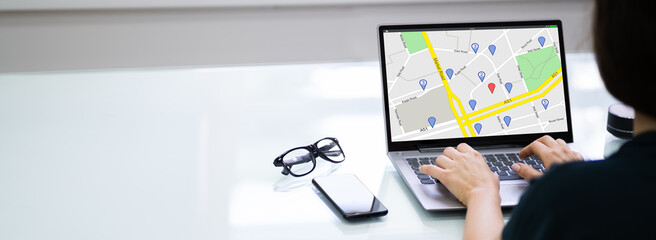 GPS Location Map Search Online