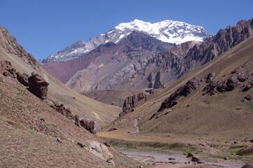 Randonnée dans le parc provincial de l'Aconcagua