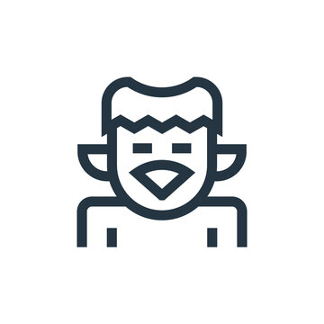kappa vector icon isolated on white background. Outline, thin line kappa icon for website design and mobile, app development. Thin line kappa outline icon vector illustration.