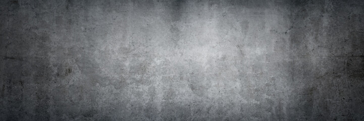 Texture of an old grungy gray concrete wall as a background