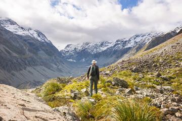 Wall Mural - Hike in New Zealand