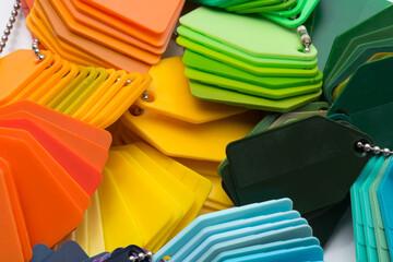 plastic plates pattern colors