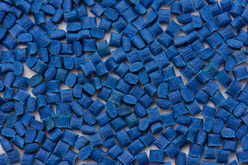 blue plastic polymer compound resins with glass-fibre