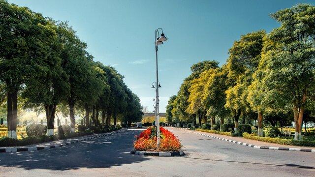 Beautiful entrance of Giki University, Pakistan.