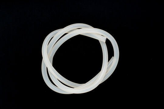 Plastic silicone hose for use in industry and aquariums.