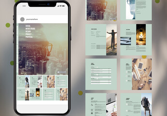 Social Media Project Offer Layouts