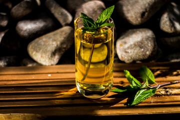 mint tea peppermint herb herbal