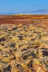 Dallol desert close up, Ethiopia