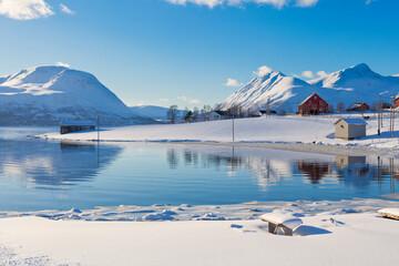 Snowy Landscape, Arctic Circle