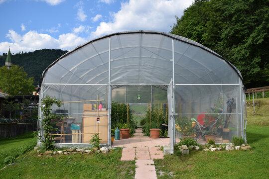 Serra ft0206_0520 Greenhouse Szklarnia ogrodnictwo