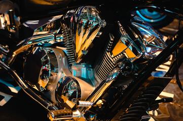luxury motorcycle motor