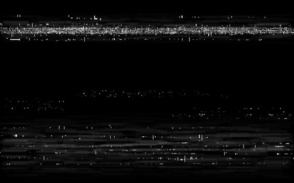 Glitch VHS backdrop. Retro rewind effect. Old tape effect with white horizontal lines. Analog playback template. Video cassette distortion. Vector illustration