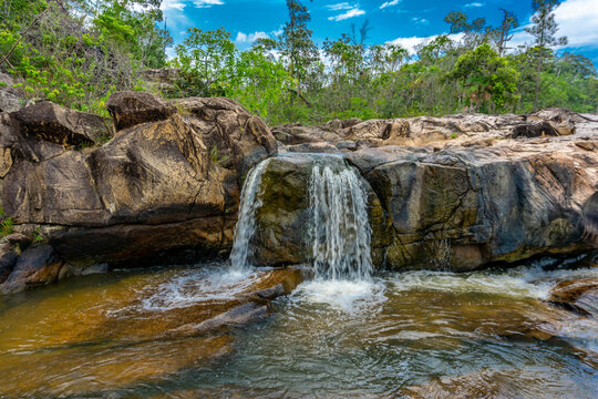 Rio on Pools Falls Reserve in Belize.