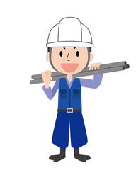 とび職 鳶 鳶職 足場 施工 建設 建築 職人 男性