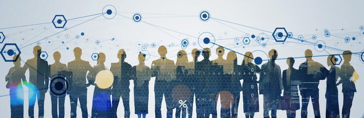 network, group, teamwork, human resources, profession, work, business, businessman, society,...