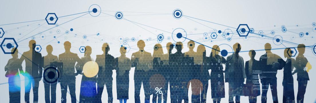 network, group, teamwork, human resources, profession, work, business, businessman, society, cooperation, organization, company, companion, person, data, information, big data, social media,