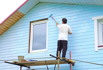Busy House Painter