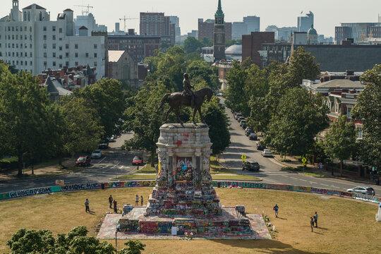 Robert E Lee Monument, Black Lives Matter