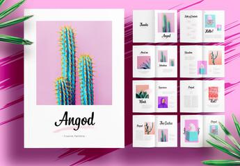 Creative Minimalist Portfolio Layout