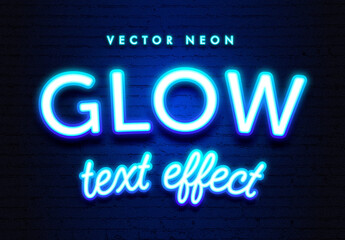 Retro Neon Glow Text Effect