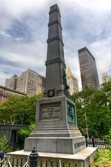 General William Jenkins Worth Monument