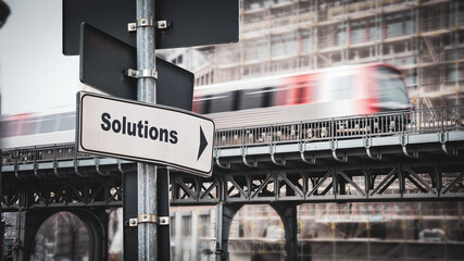 Street Sign to Solutions
