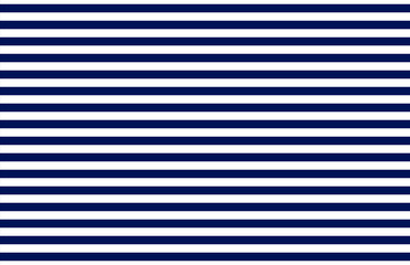 Marine stripe singlet pattern blue white lined vector seamless. Classic navy clothing texture. textile simple print. Graphic illustration