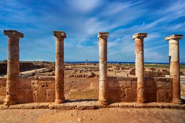 Greek civilization archeology culture unesco historic marble building facade landmark