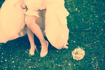 Wedding Accessories Brides, vintage photography outdoors, wed