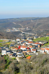 Cerdedelo, pueblo de la provincia de Ourense, Galicia, norte de España