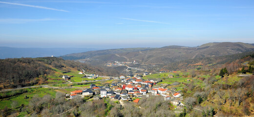 Cerdedelo, village in the province of Ourense , Galicia, north of Spain