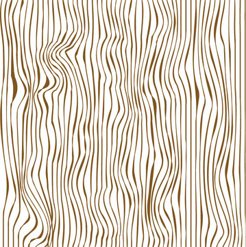 Seamless wooden pattern. Wood grain texture. Dense lines. Vector illustration