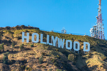 Holywood sign in Los Angeles