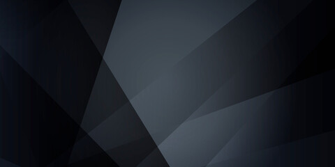 Dark abstract polygonal presentation background with business corporate concept. Vector illustration design for presentation, banner, cover, web, flyer, card, poster, wallpaper, texture, slide, magz