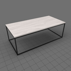 Modern coffee table 1