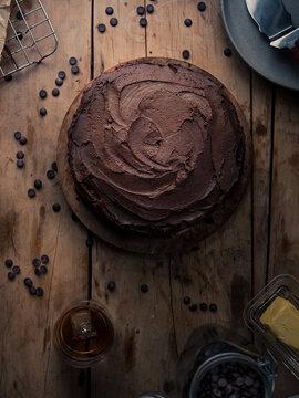 Little Black Dress Chocolate cake