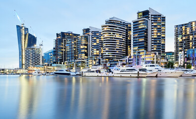 Apartment Buildings at Docklands