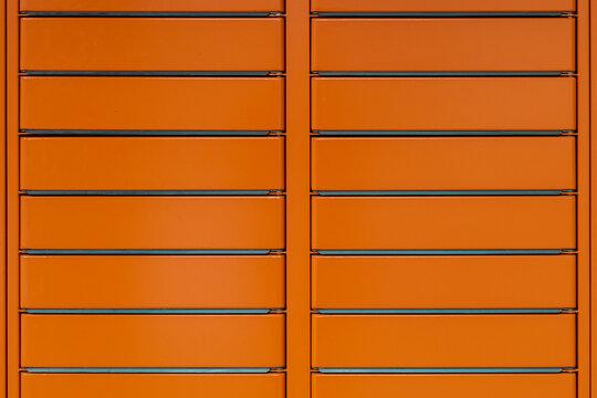 Orange Parcel locker