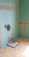 Construction of a new bathroom