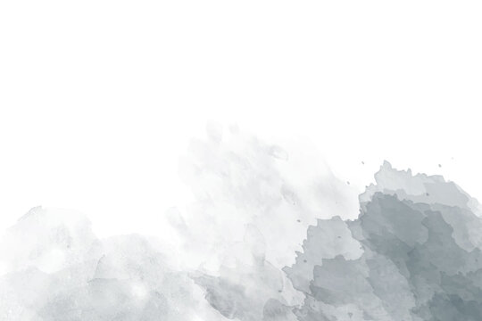 Soft gray abstract watercolor background