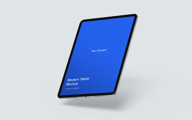 iPad Pro Mockup, PSD File Included, Place your Design Via Smart Object, Separated Shadow and Background