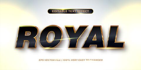 Fototapeta Editable text effect - Royal text style concept obraz